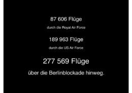 Berlin-Blockade Luftbrücke