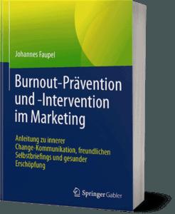 Johannes Faupel: Springer Burnout-Fachbuch